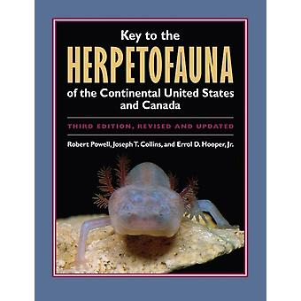 Key to the Herpetofauna of the Continental United States and Canada by Robert PowellJoseph T. Collins