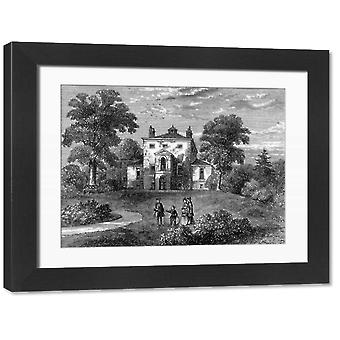 Westcombe C18. Large Framed Photo. West Coombe (now Westcombe) near Blackheath in southeast.