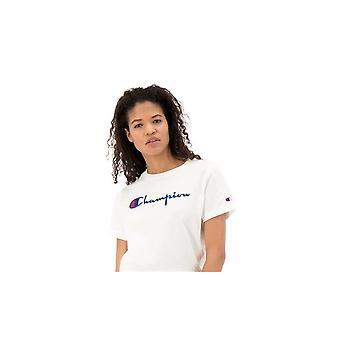 Champion Reverse Kudonta Crewneck 110992WW001 yleinen kesä naisten t-paita