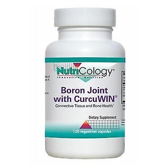 Nutricology / Allergi Forskningsgruppe Boron Joint med Curcuwin, 120 Veg Caps