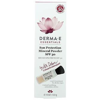 Derma e Sun Protection Mineral Powder SPF by Ash Deleon, 0.14 Oz