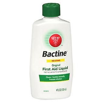 נוזל עזרה ראשונה מקורי של Bactine Bactine, 4 אונקיות