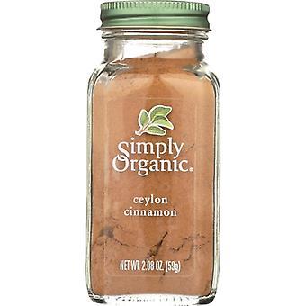 Simply Organic Cinnamon Ceylon Org, Case of 6 X 2.1 Oz