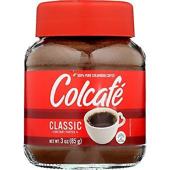 Colcafe Coffee Powder Insnt, Case of 12 X 3 Oz