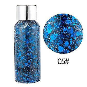 new 05 8 colors glitter shiny body painting for eye shadow gel cream face shimmer sm32311