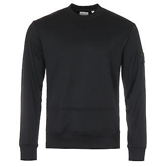 Lyle & Scott Tricot Crew Neck Sweatshirt - Black