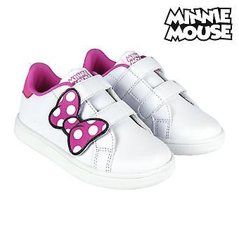 Zapatos deportivos para niños Minnie Mouse 74062 Blanco