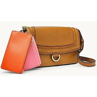Fossil Millie Leather Crossbody with Pouches Tan SLG1380231
