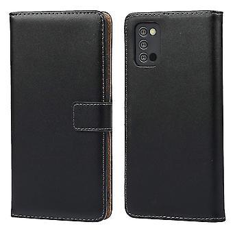 iCoverCase - Funda de billetera para Samsung Galaxy A02s