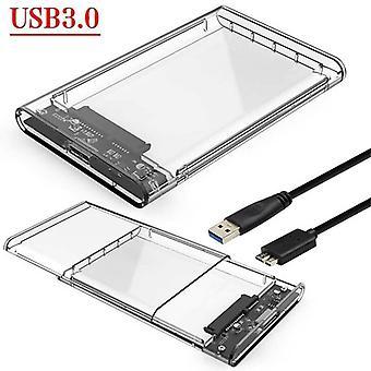 Boîtier de disque dur USB 3.0 vers SATA pour disque dur / SSD 2.5 «externe pour PC
