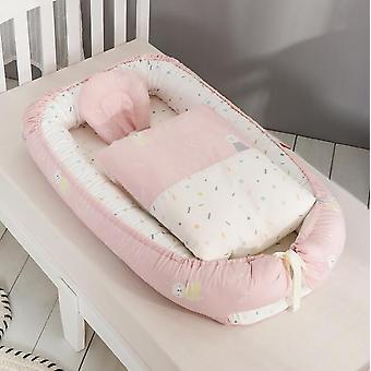 Детская портативная кроватка Бамперы Спальная кроватка, Гнездо, Защитная подушка, Складная,