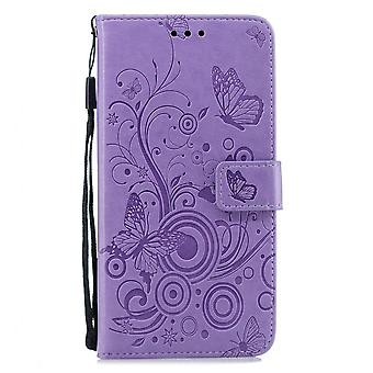 Book Wallet Case For Capa Samsung Galaxy S10 Single Color Lovely Butterflies Cover