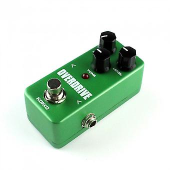 Mini Vintage Overdrive Guitar Effect Pedal Overload Guitar Stompbox Fod3