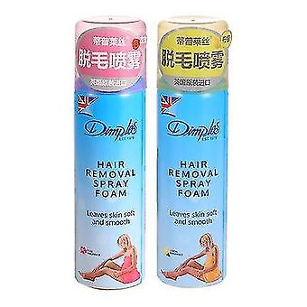 Dimples Hair Remover Spray Foam Leaves Skin Soft And Smooth