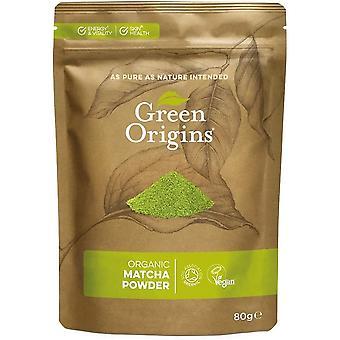 Organic Matcha Green Tea Powder - 80 grams