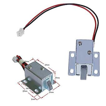 Locks latches 6/12v dc mini solenoid lock electromagnetic electric control cabinet drawer sm112601