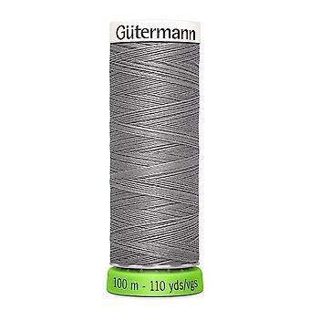 Gutermann 100% genanvendt polyester sy-alle tråd 100m hånd og maskine - 493