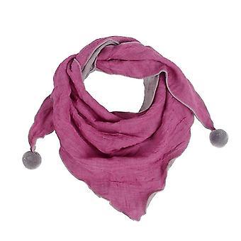 Girls Scarf, Neck Collars Warm Pompom Scarves