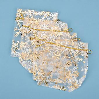 Fashion Star White Organza Bags, Nice Jewelry Packaging Bags
