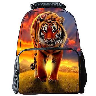 Sac d'école d'enfants de modèle de tigre