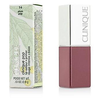 Color de labios de Clinique Pop + cartilla - ciruelo # 14 Pop - 3.9g/0.13oz