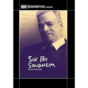Six by Sondheim [DVD] USA import