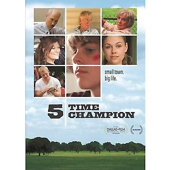 5 Time Champion (2011) [DVD] USA import