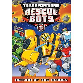 Transformatoren Rescue Bots: Terugkeer van de helden [DVD] USA import