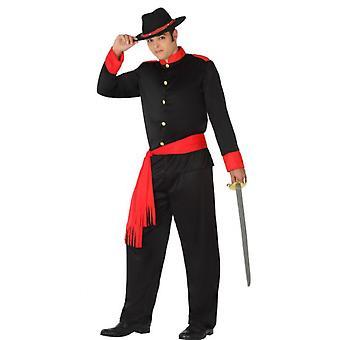 Mænd kostumer soldat kostume