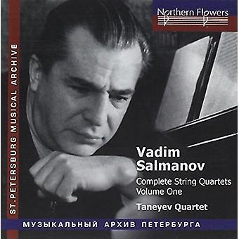 Taneyev String Quartet - Salamov: Complete String Quartets 1 [CD] USA import
