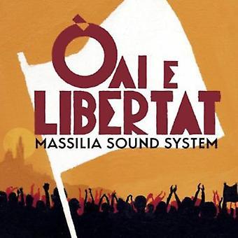 Massilia Sound System - Oai E Libertat [CD] USA import