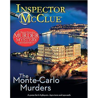 المفتش مككلوي القتل سر لعبة--قتل مونتي كارلو
