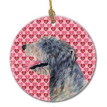 Carolines Treasures  SS4506CO1 Irish Wolfhound  Ceramic Ornament