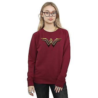 DC Comics Liga de justicia película maravilla mujer emblema sudadera mujer