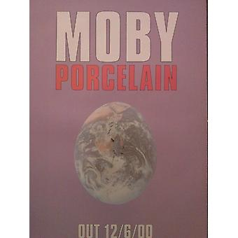 Moby Porcelain Poster