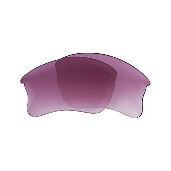 Replacement Lenses for Oakley Fast Jacket XL Frame Purple Gradient Anti-Scratch Anti-Glare UV400 by SeekOptics