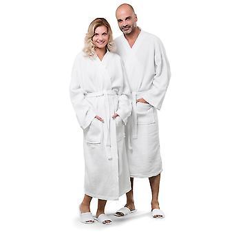 Jassz Towels Constance 100% Cotton Waffle Robe