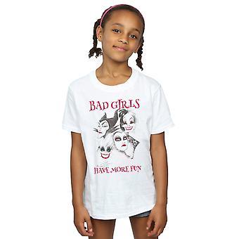Disney Girls Bad Girls Have More Fun T-Shirt