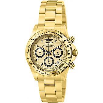 Invicta Speedway 14929 aço inoxidável Chronograph Watch