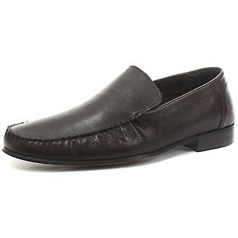 Red Tape Tycoon Brown Mens Formal Moccasin Slip On Shoes