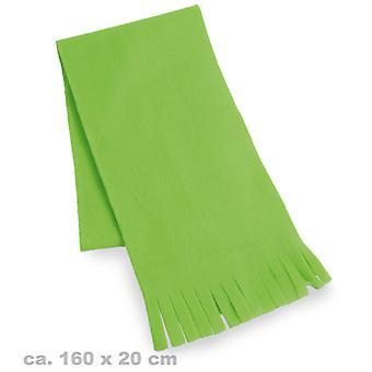 Plysj skjerf grønne 80 neon