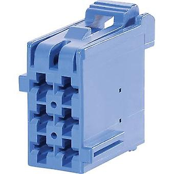 TE Connectivity Socket enclosure - cable J-P-T Total number of pins 9 Contact spacing: 5 mm 1-967621-1 1 pc(s)
