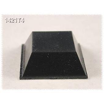 Hammond elettronica 1421T4 piede nero autoadesivo, circolare (Ø x H) 20,5 x 7,6 mm 24/PC