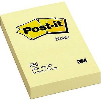 Post-it Sticky note 7000080472 51 mm x 76 mm Yellow 100 sheet