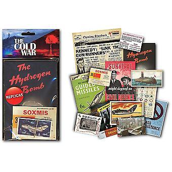 Kylmän sodan Pienpainatteet muistoesineitä Pack