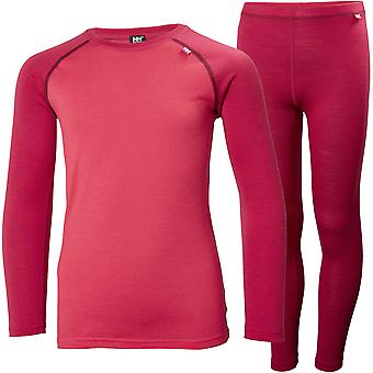 Helly Hansen Boys & Girls Jr Merino Mid Baselayer Set