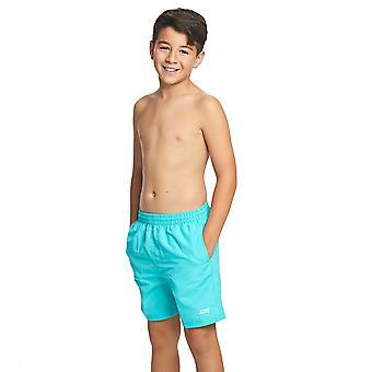 Zoggs Junior Boys Penrith Swimming Shorts Jade for 6-15 Years Children