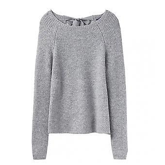 Joules Joules Sorcha Raglan Tie Neck Womens Sweater (Z)