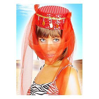 Cappello di Harem cappelli rosso