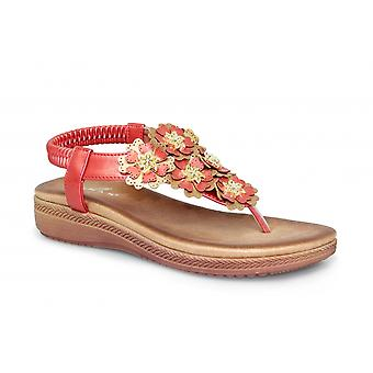 Lunar Sirena blommig Layered sandal CLEARANCE